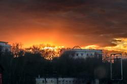 От рассвета до заката: фантастическая игра красок в одесском небе (ФОТО)