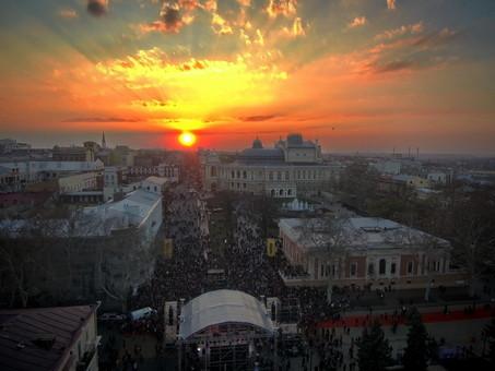 Главный концерт одесской Юморины с птичьего полета (ФОТО)