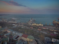 Безумно красивый закат над одесской Юмориной (ФОТО, ВИДЕО)