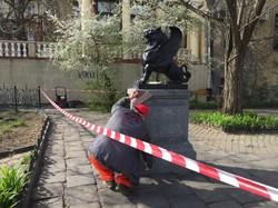"""Начался ремонт """"Уголка старой Одессы"""" (ФОТО)"""