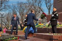 Как отмечали 75-летие освобождения Одессы: освободителей почти не осталось (ФОТО, ВИДЕО)