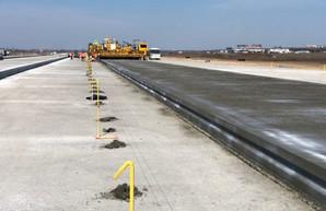 Новую взлетно-посадочную полосу в аэропорту Одессы достроят до конца года
