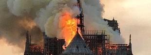 Сгорел Собор Парижской Богоматери, но его восстановят (ФОТО)