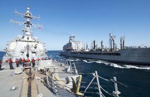 Ближневосточный пат: США полностью блокируют экспорт нефти из Ирана, Иран обещает блокировать Ормузский пролив