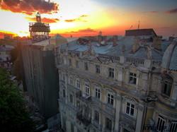 Огненный закат над Одессой в день 2 мая (ФОТО)