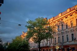 Вечер в Одессе: 50 оттенков оранжевого (ФОТО)