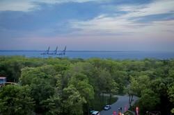 Как выглядит Одесса вечером с высоты (ФОТО)