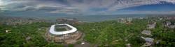 На Одессу надвигается гроза: фото с высоты птичьего полета