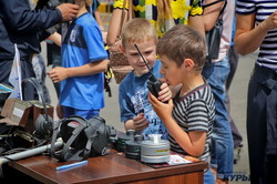 В Одессе спасатели устроили полезный праздник для детей (ФОТО)