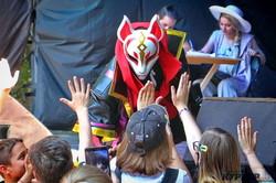 Как в возрожденном Летнем театре одесситы празднуют детский день (ФОТО)