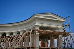 Реставрация Воронцовской Колоннады в Одессе: вид с квадрокоптера (ФОТО, ВИДЕО)