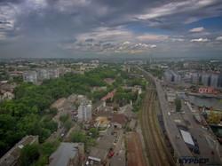 Одесса с высоты: как город соседствует с портом (ФОТО)
