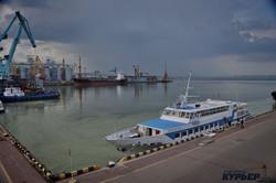 50 оттенков зеленого: в Одессе зацвело море (ФОТО, ВИДЕО)