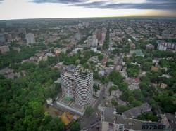В Одессе крыша высотки превратилась в частную арт-площадку (ФОТО)