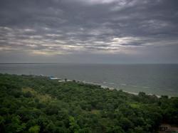Одесса с высоты 400 метров: море, город и тучи (ФОТО, ВИДЕО)