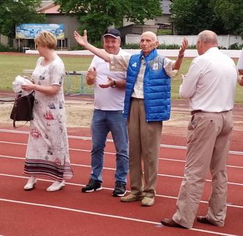 Выдающегося одесского тренера поздравили с 90-летним юбилеем
