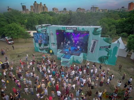 Грузинский фестиваль в Одессе: Мгзавреби, Боржоми, мясо, вино и лимонад (ФОТО, ВИДЕО)