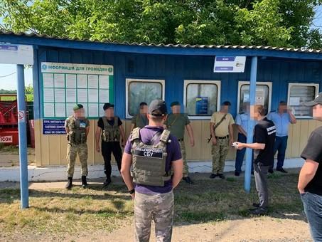 В Одесской области чиновники таможни и погранслужбы попались на взятке