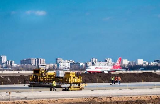 Строительство взлетно-посадочной полосы в аэропорту Одессы дорожает более чем на миллиард гривен (ВИДЕО)