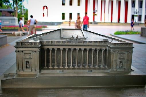 В Одессе появились первые три трехмерные копии памятников архитектуры (ФОТО)