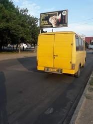 Несмотря на правительственный запрет, в Одессе еще курсируют «маршрутки» переделанные из грузовых микроавтобусов