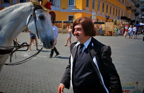 Сорочинскую ярмарку в Одессе открыл сам Гоголь (ФОТО)
