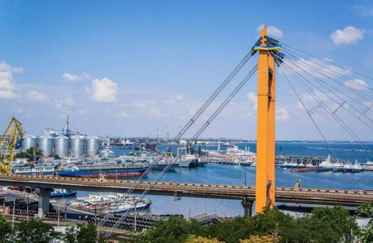 В порту Одессы отремонтируют вантовый мост магистрального путепровода