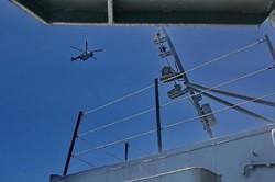 Флагман ВМС Украины вышел в море на боевую подготовку из Одессы (ФОТО)