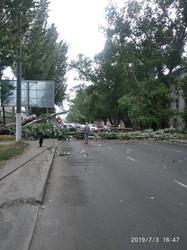 Непогода натворила бед в Одессе, есть пострадавшие