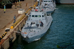 Международная эскадра в порту Одессы готовится отмечать День ВМС Украины (ФОТО)