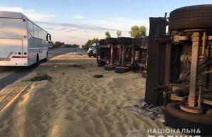 В Одесской области произошли два инцидента с грузовиками: есть погибшие