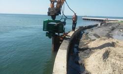 В Одесской области продолжается строительство канала из моря в Тилигульский лиман (ФОТО)