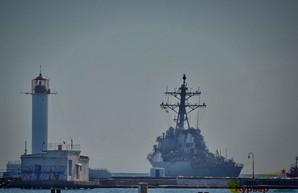 "Флот НАТО покинул Одессу и направился в открытое море на учения ""Си-Бриз"" (ФОТО)"