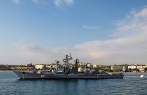 """Российский боевой корабль пытался помешать учениям """"Си-Бриз"""""""