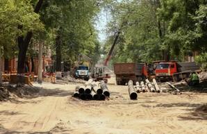 Движение транспорта на улице Софиевской в Одессе обещают открыть уже в ноябре