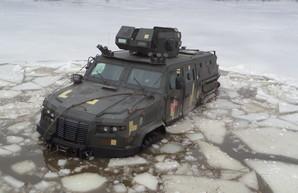 """Бронеавтомобиль """"Казак-2М1"""" отправляется на """"золото"""""""