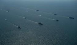 """""""Си-Бриз"""": флот НАТО и Украины совершил финальное построение (ВИДЕО)"""
