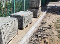В Белгород-Днестровском Одесской области активно ремонтируют улицы и тротуары