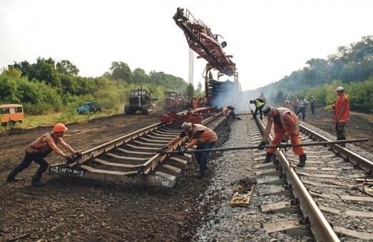 На Одесской железной дороге отрапортовали о ремонтах путей