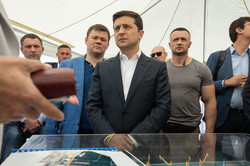 Как президент в Одессе порт проверял и с коррупцией боролся