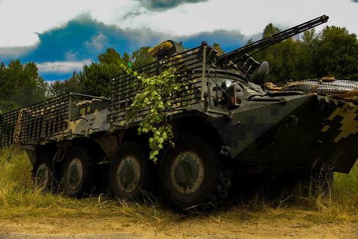 Украинский БТР-3ДЕ – компиляция многолетнего опыта