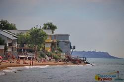 В Одессе обвалился береговой склон в Люстдорфе (ФОТО, ВИДЕО)