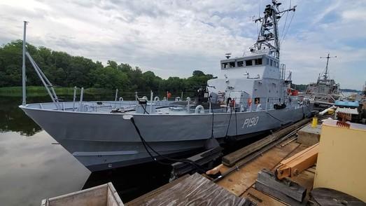 """Второй """"Айленд"""" для Украины завершил испытания и готовится идти в Одессу (ФОТО)"""