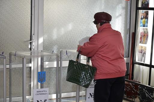 Все избирательные участки в Украине работают