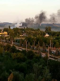 Обстрел Первомайска: классическая провокация оккупантов накануне выборов