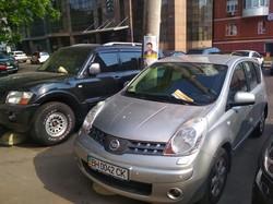 В центре Одессы одна из партий разместила свою агитацию на автомобиле (ФОТО)