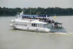В Вилково побывал теплоход «Виктория» с иностранными туристами