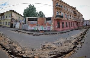 Как в Одессе ремонтируют Воронцовский переулок (ФОТО)
