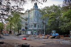 В Одессе продолжается реконструкция улицы Софиевской: что успели сделать (ФОТО)