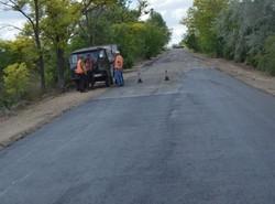 На юге Одесской области отремонтировали дорогу к популярной курортной зоне